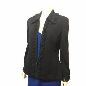 St. John Collection Black Blazer